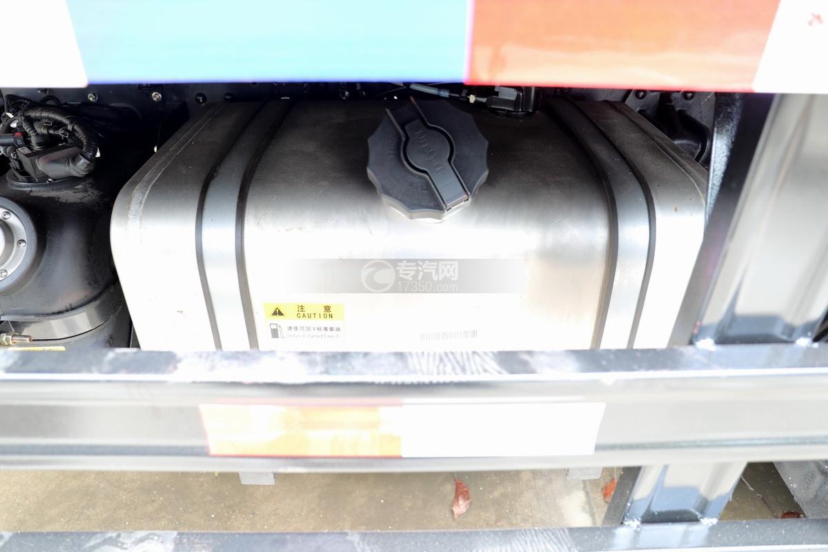大运奥普力5吨直臂随车吊(蓝色)油箱