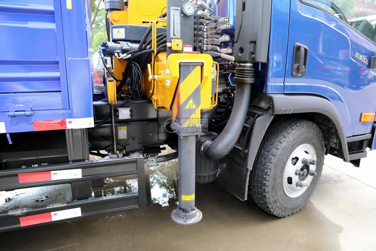 大运奥普力5吨直臂随车吊(蓝色)细节