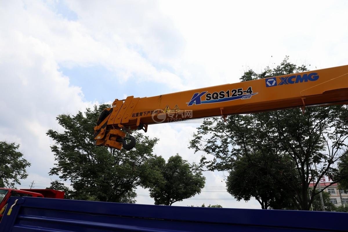大运奥普力5吨直臂随车吊(蓝色)吊机细节