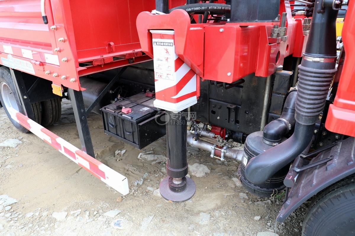 东风多利卡D6长兴3.5吨直臂随车吊油缸