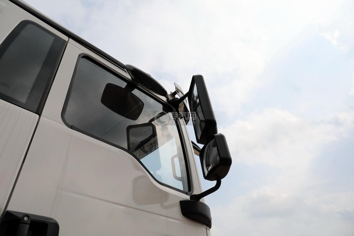 陕汽德龙新M3000前四后八国六14吨直臂随车吊后视镜