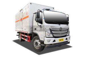 福田歐馬可S3國六5.1米易燃氣體廂體運輸車