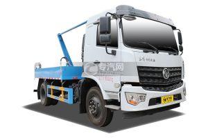 东风专用底盘D3L国六摆臂式垃圾车