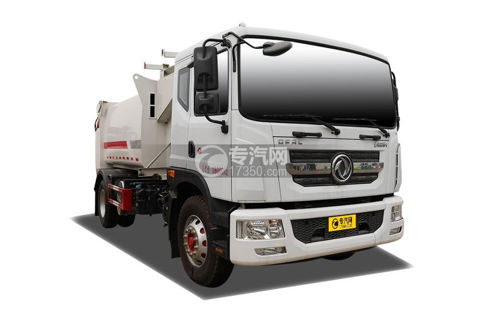 东风多利卡D9国六车厢可卸式垃圾车