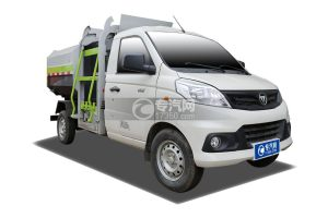 国六福田祥菱自装卸式垃圾车