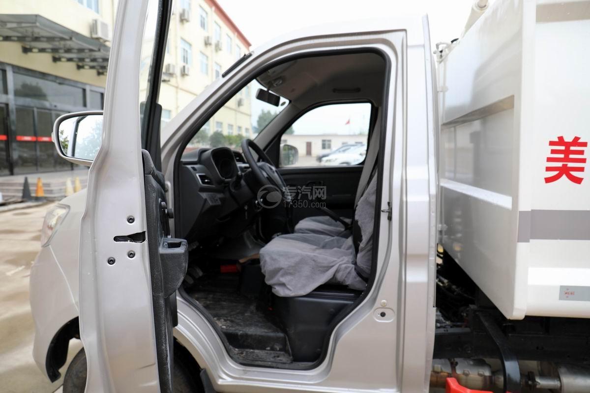 重庆长安跨越王X1国六自装卸式垃圾车细节