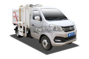 重庆长安跨越X1国六自装卸式垃圾车