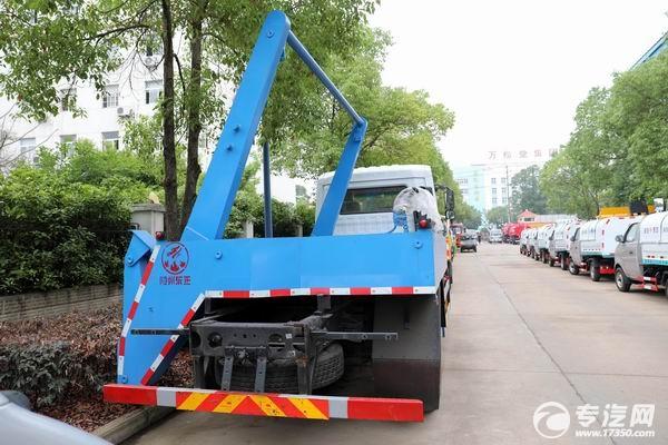 东风专底D3L侧装摆臂式垃圾车