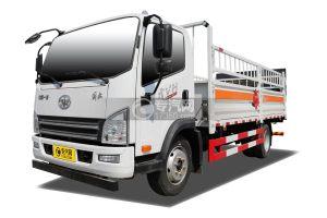 解放虎VH國五5.1米氣瓶運輸車