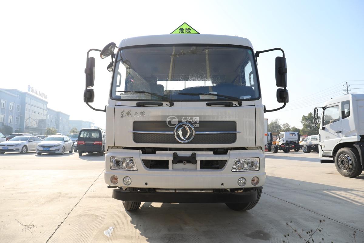东风天锦国五6.7米气瓶运输车车前图