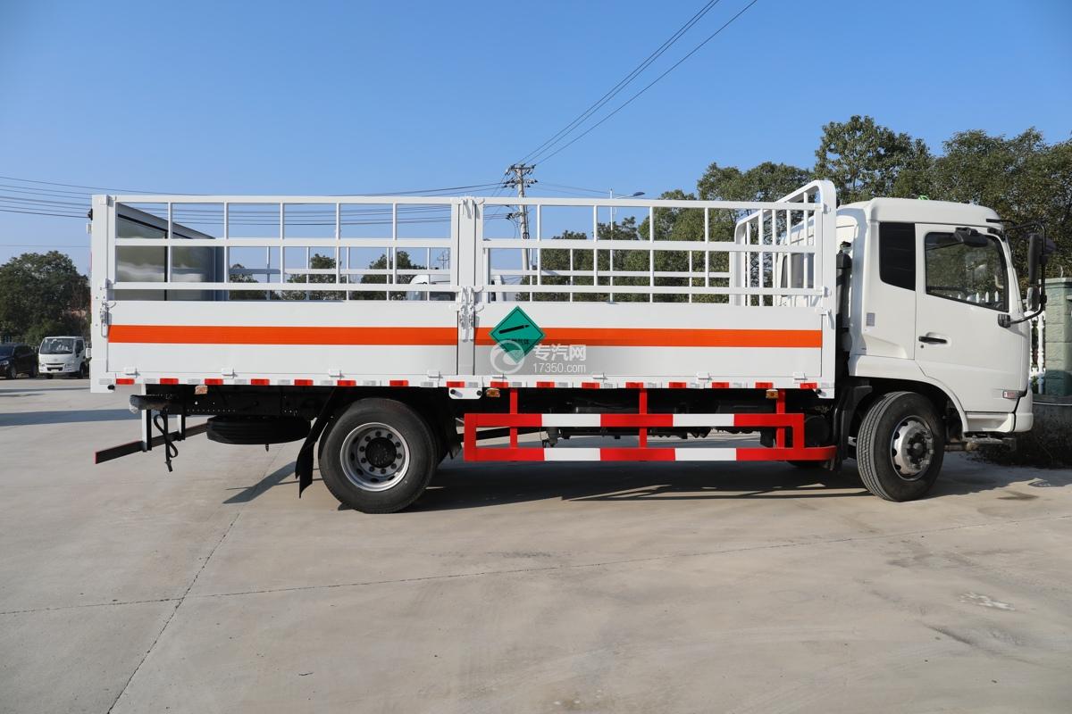 东风天锦国五6.7米气瓶运输车右侧图