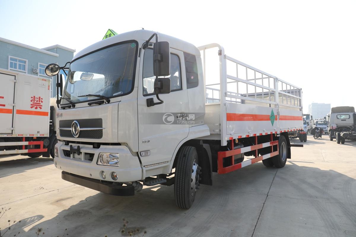东风天锦国五6.7米气瓶运输车左前图