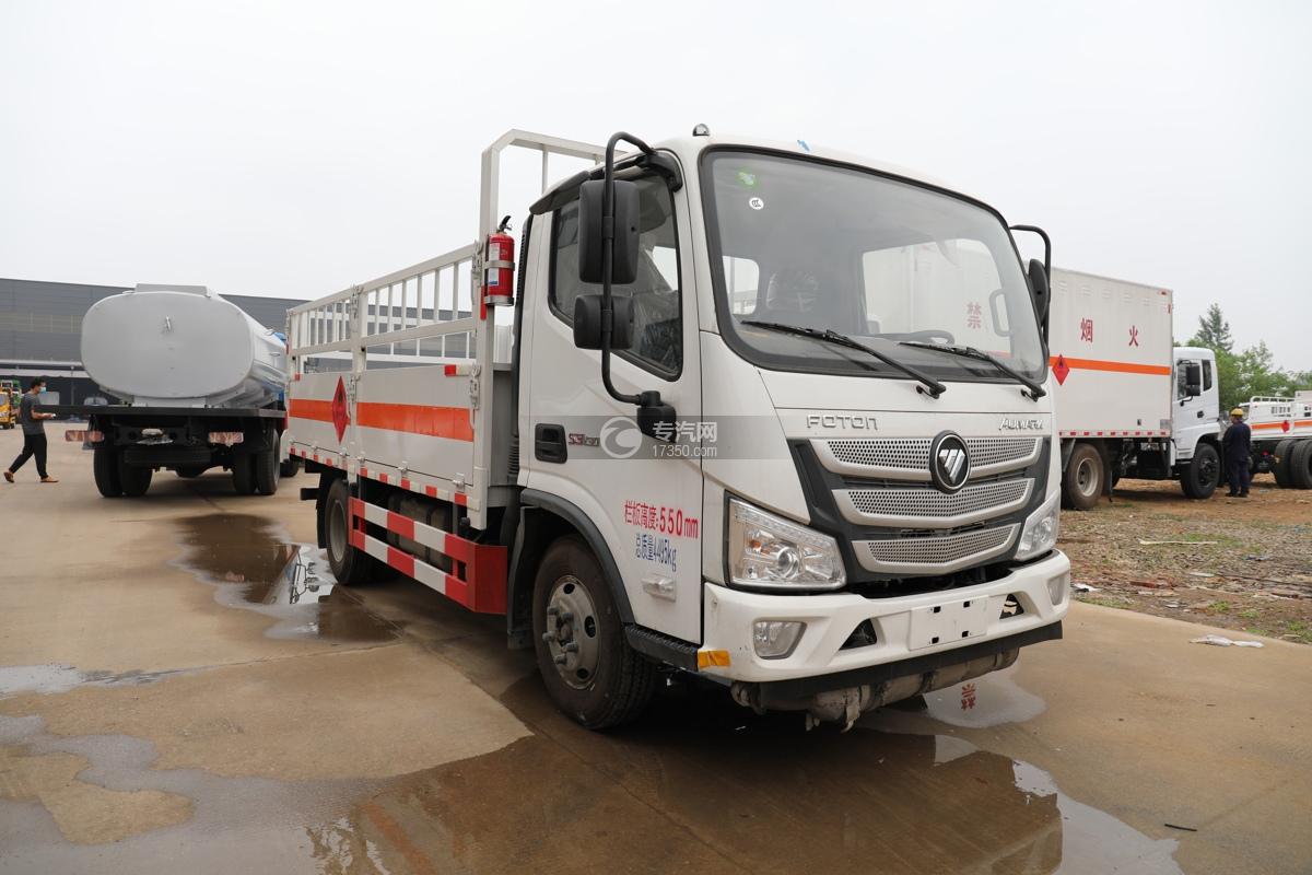 福田歐馬可S3國六4.1米氣瓶運輸車