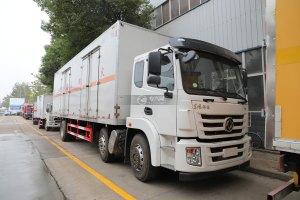 东风锦程V6小三轴国六易燃液体厢式运输车图片