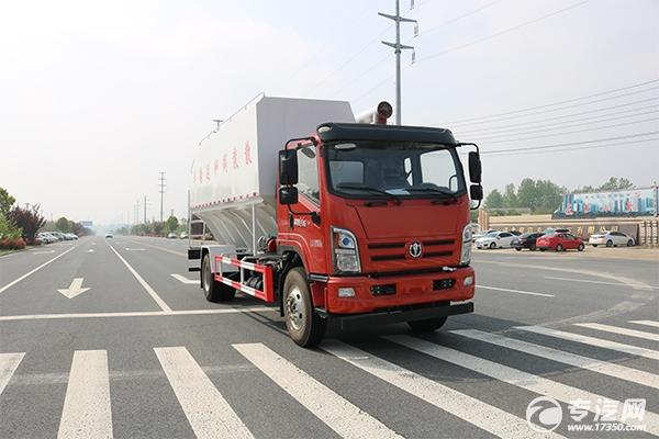 新车推荐——奥驰V6单桥国六散装饲料运输车来袭