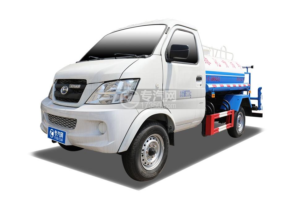 北汽昌河福瑞达K21国六1.54方绿化喷洒车