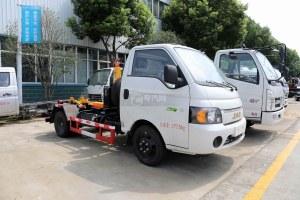 江淮康铃X5国六车厢可卸式垃圾车图片