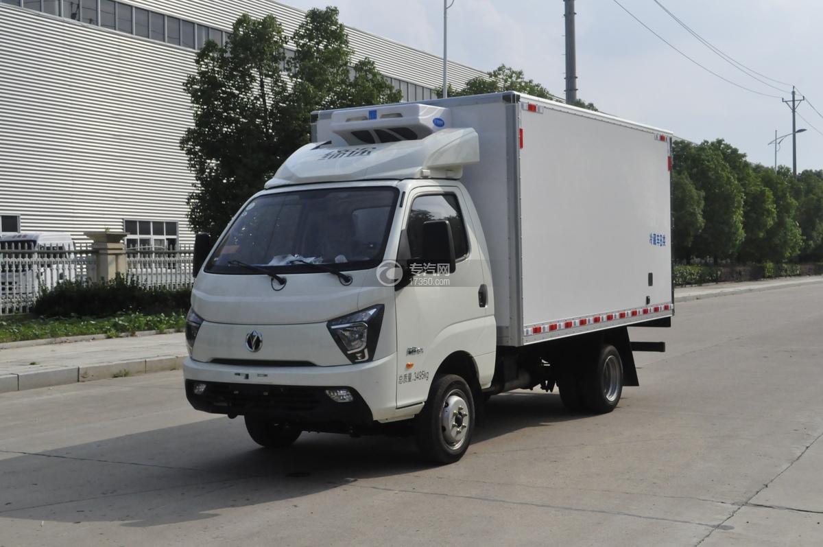 飞碟缔途国六3.5米冷藏车