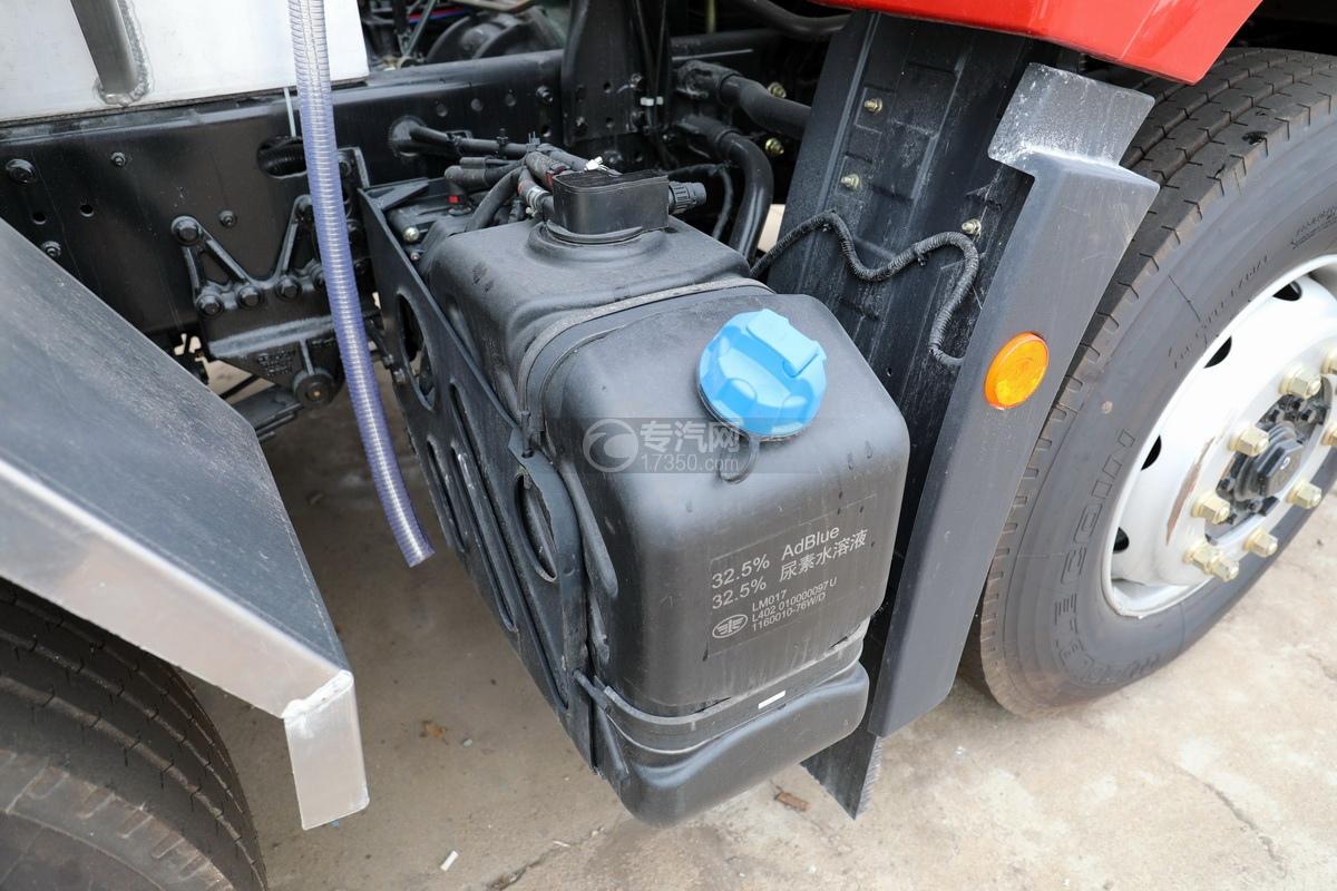 解放悍V2.0高顶前四后六25.9方铝合金运油车尿素罐