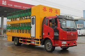 解放J6排半国五养蜂车