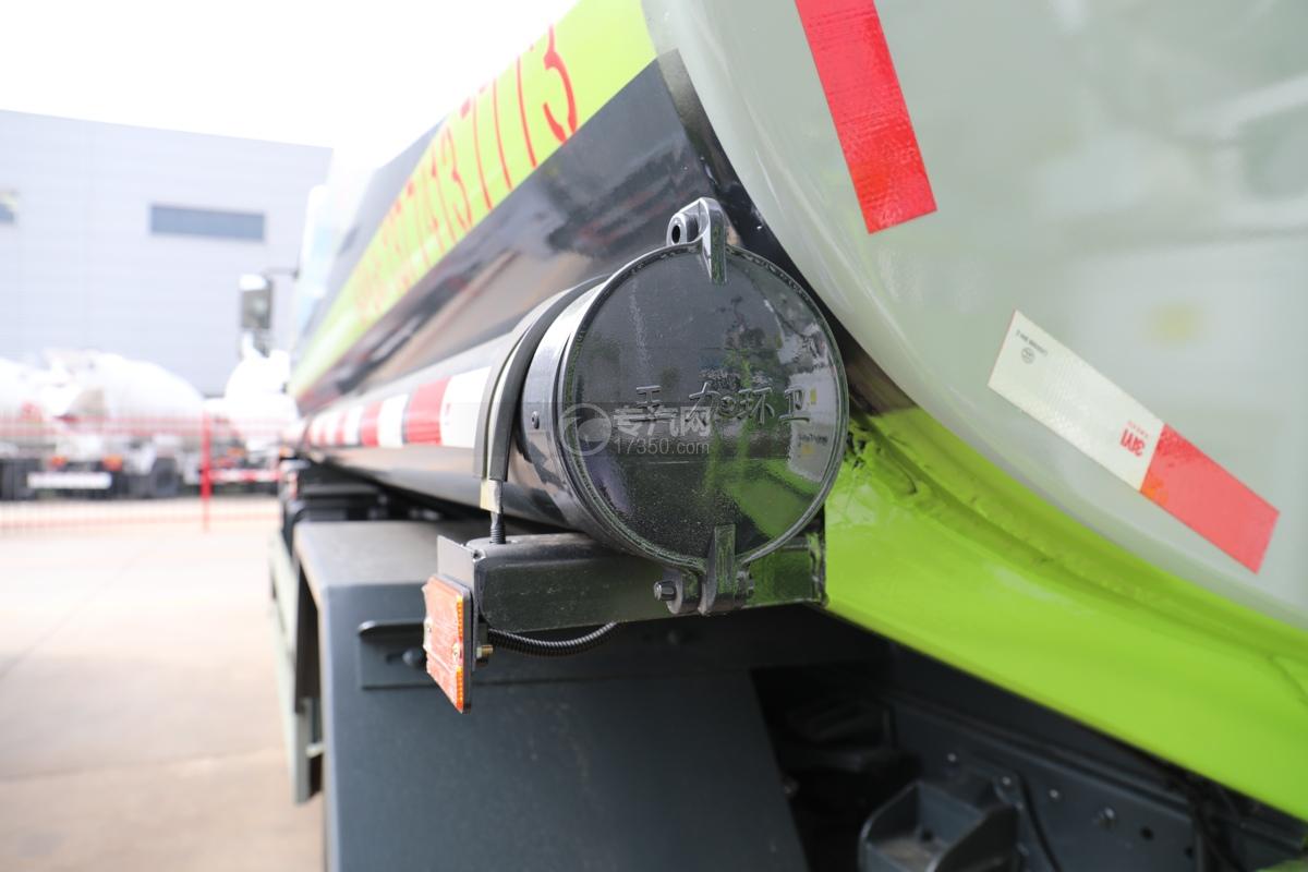 东风专用畅行D3国五10.08方绿化喷洒车炮筒