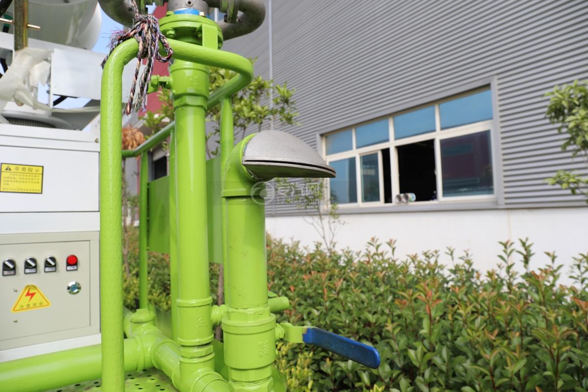 东风专用畅行D3国五10.08方绿化喷洒车侧喷