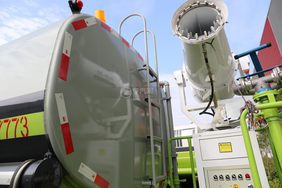 东风专用畅行D3国五10.08方绿化喷洒车爬梯