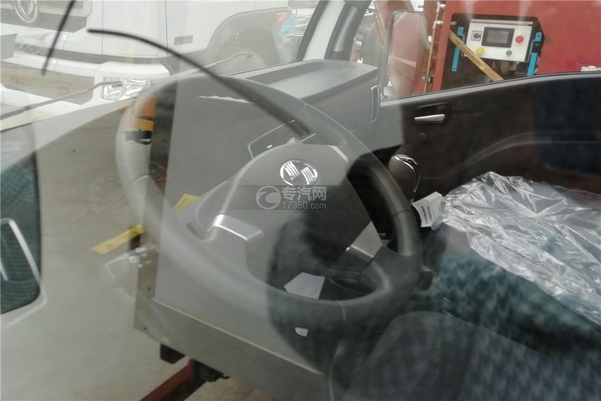 躍進小福星S70國六3.2米醫療廢物轉運車方向盤