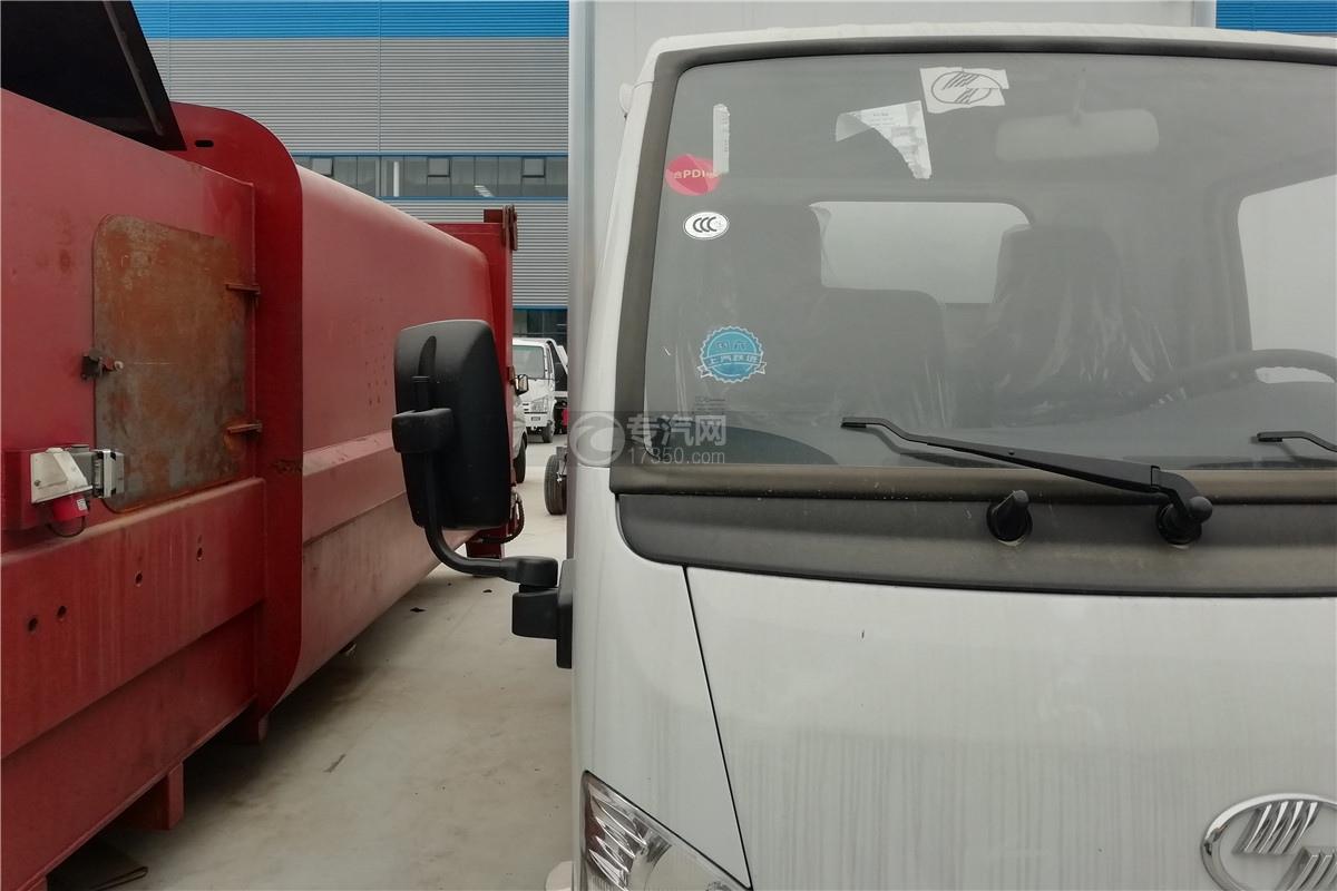 躍進小福星S70國六3.2米醫療廢物轉運車右后視鏡