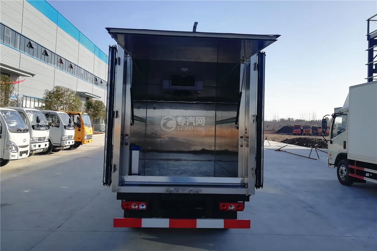躍進小福星S70國六3.2米醫療廢物轉運車內壁