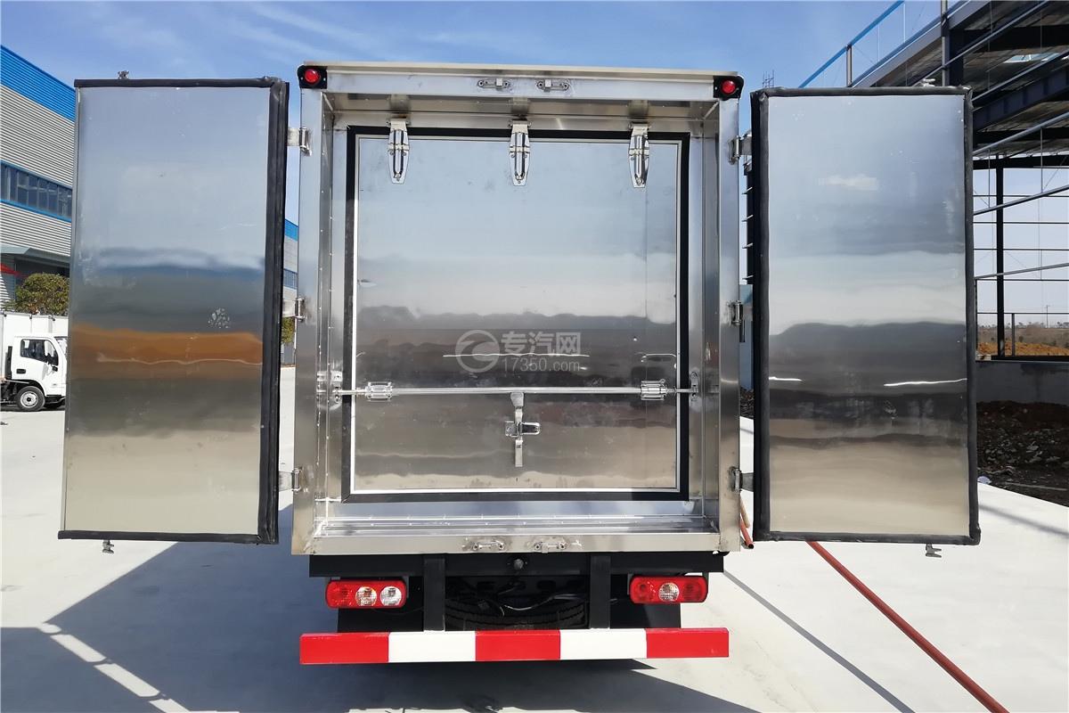 躍進小福星S70國六3.2米醫療廢物轉運車密封門