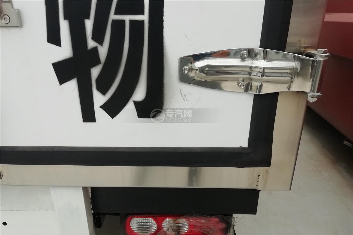 躍進小福星S70國六3.2米醫療廢物轉運車合頁