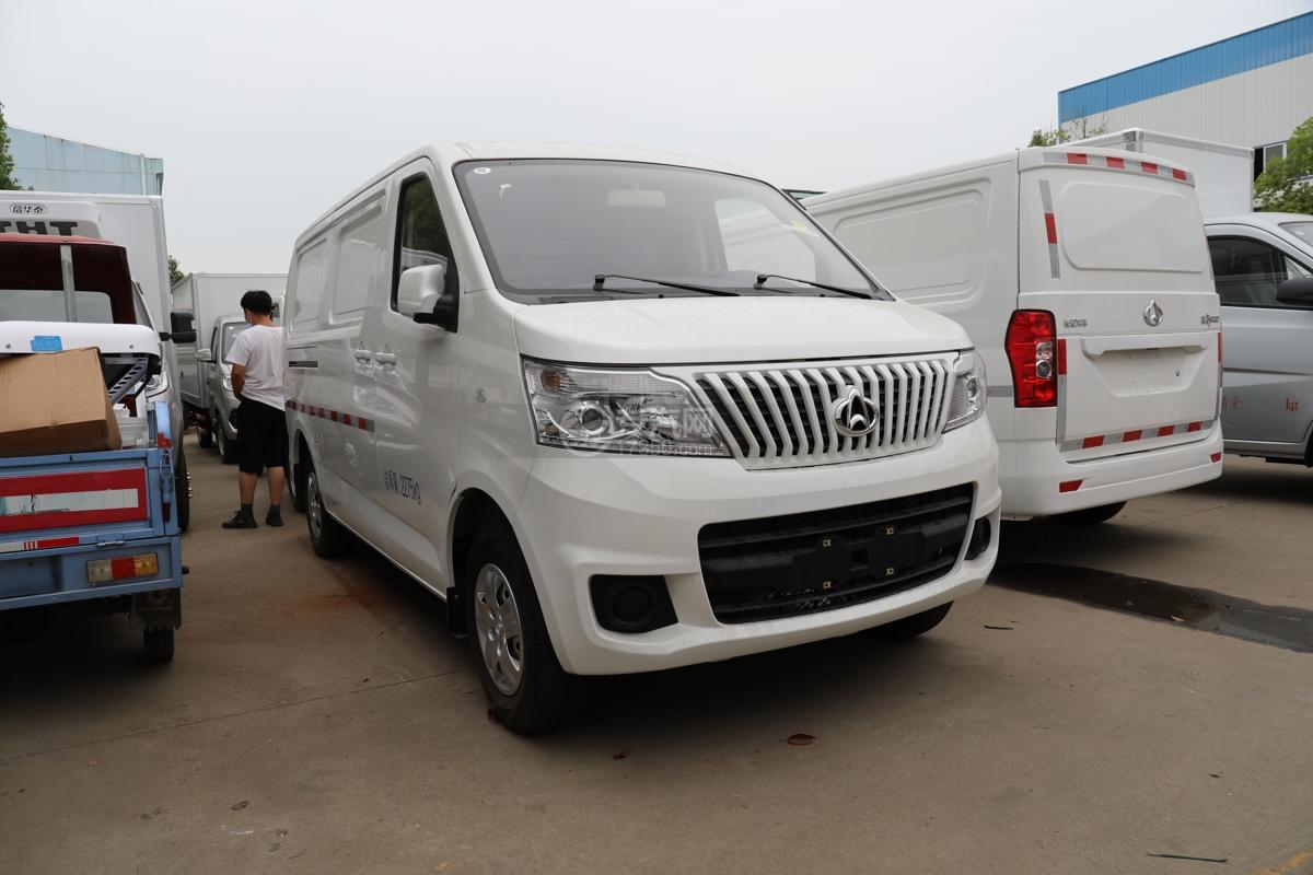 河北長安睿行M80國六面包冷藏車圖片