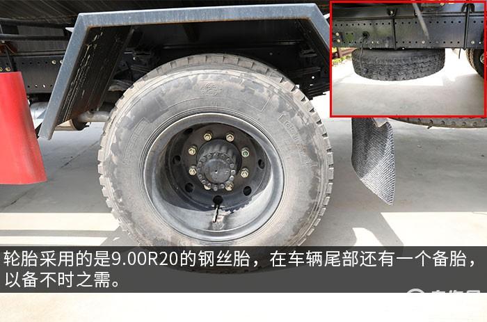 東風華神F5國六10.5方綠化噴灑車評測