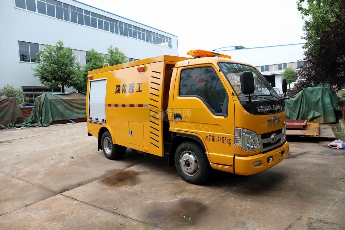 福田时代国六工程救险车