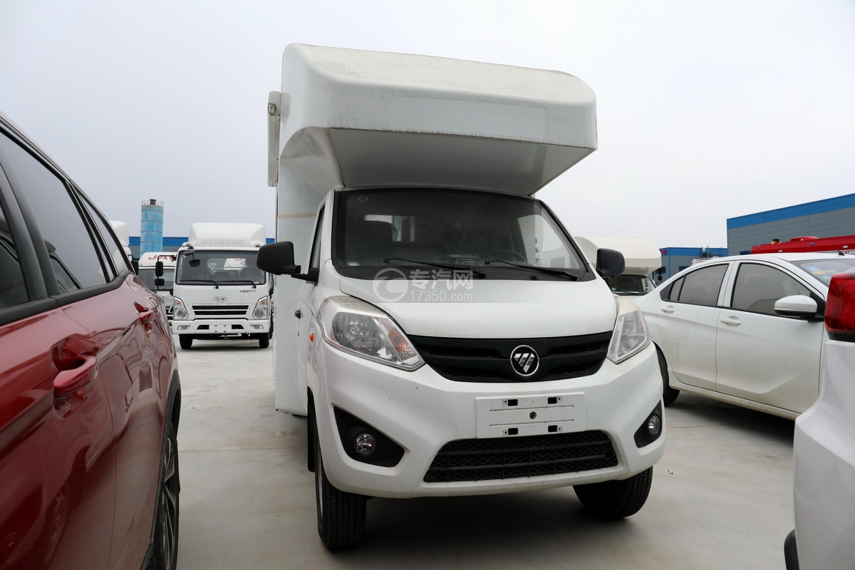 福田祥菱国六流动服务车