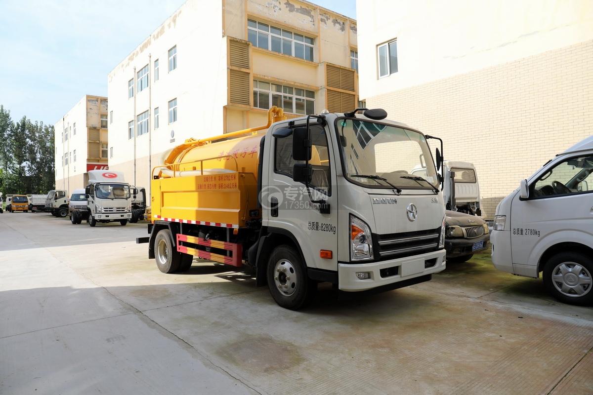 大運新奧普力國六6.26方清洗吸污車