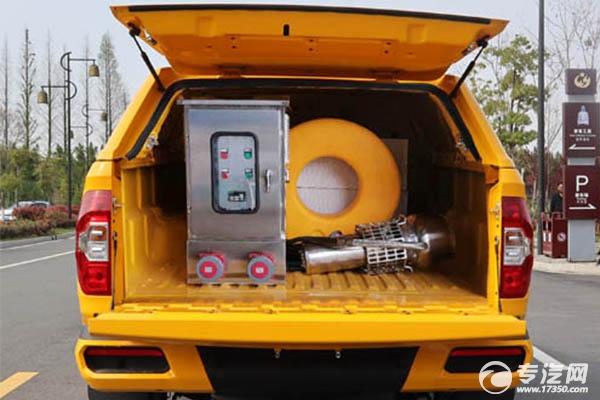 大通皮卡工程救險車內部配置