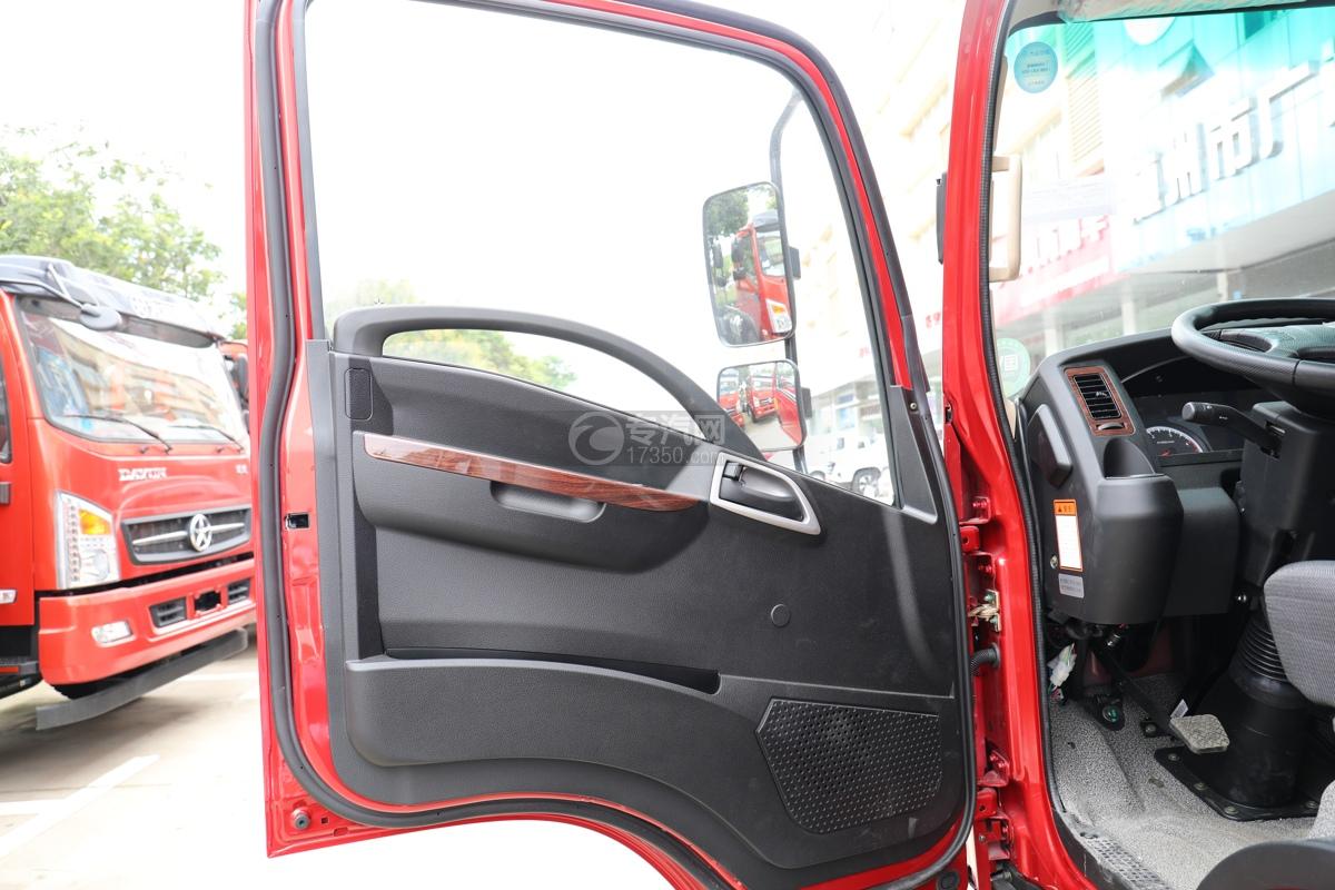 大运新奥普力国五4.05米冷藏车电动门窗