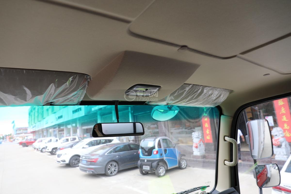 大运新奥普力国五4.05米冷藏车后视镜