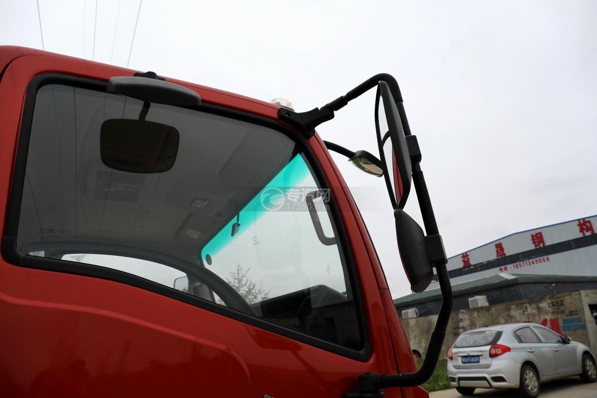 大运新奥普力国六5吨直臂随车吊后视镜