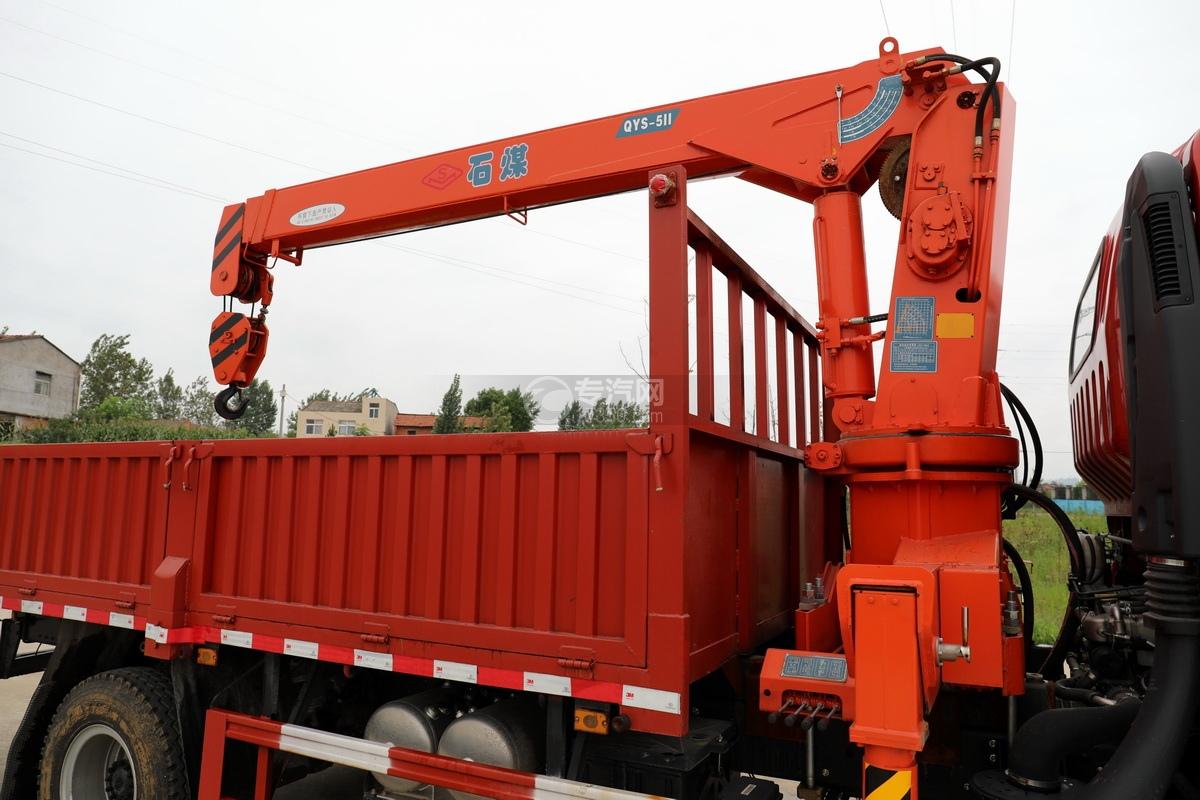 大运新奥普力国六5吨直臂随车吊吊机