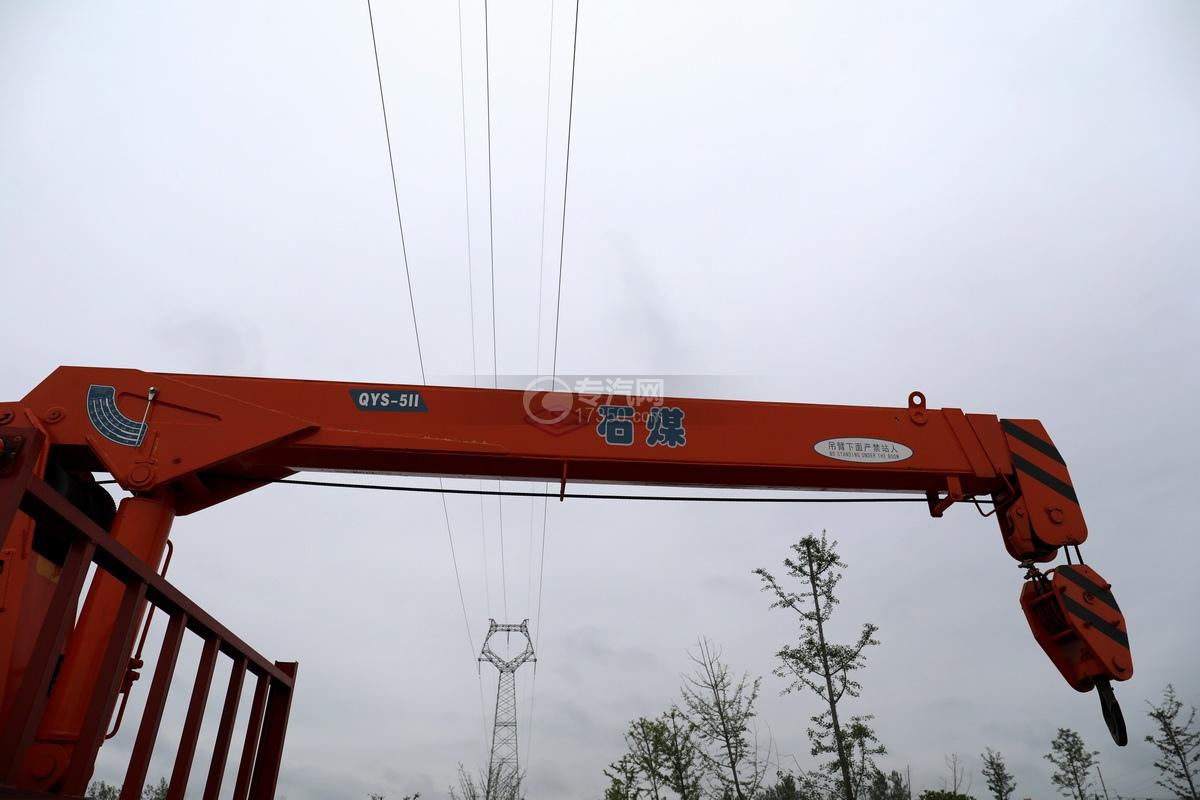 大运新奥普力国六5吨直臂随车吊吊机细节