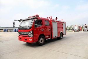 东风凯普特双排国六泡沫消防车图片