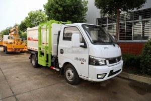 國六東風途逸自裝卸式垃圾車圖片