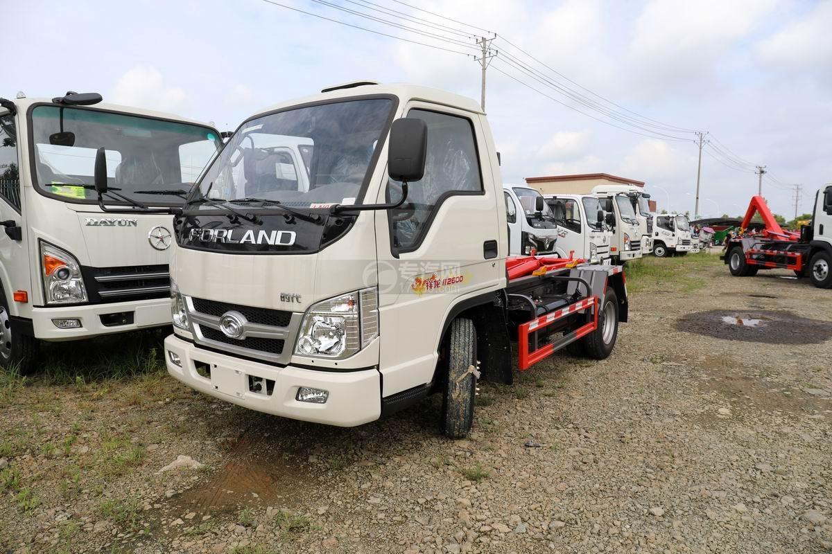 福田时代祥龙国六车厢可卸式垃圾车