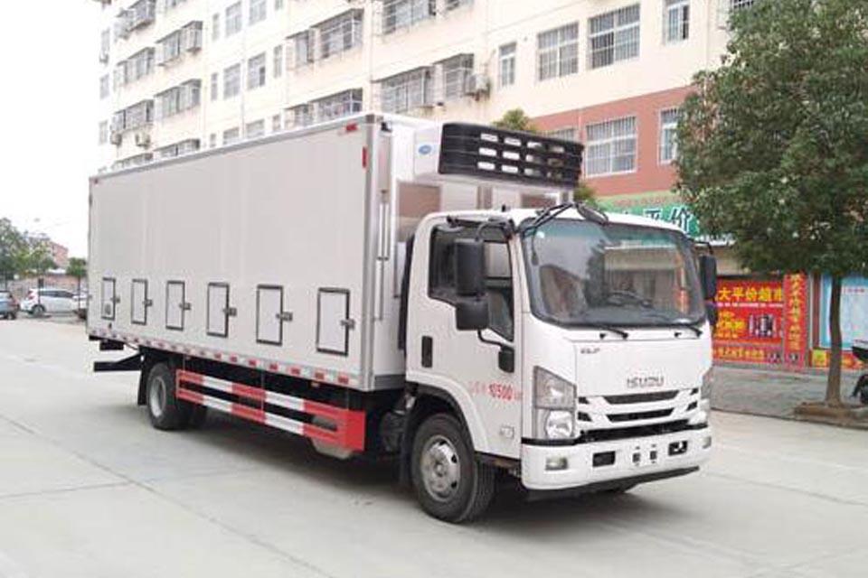 慶鈴五十鈴國六雛禽運輸車