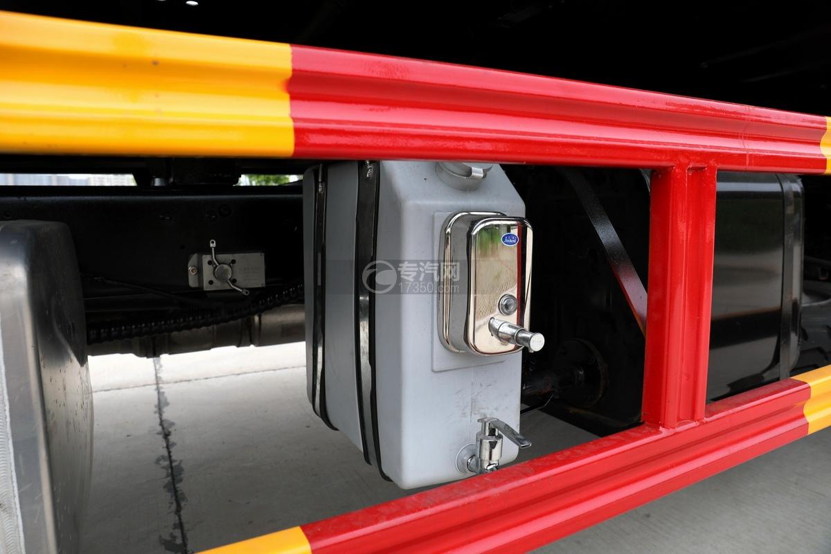 大運奧普力國六4400軸距一拖二清障車洗手水箱