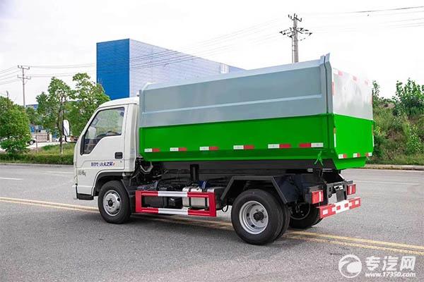 福田時代小卡之星自裝卸式垃圾車