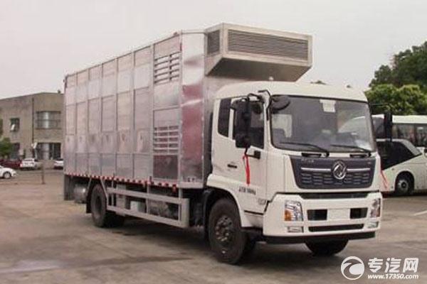 再來一款運豬車——東風天錦單橋畜禽運輸車